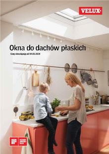 Katalog Okien do dachów płaskich velux